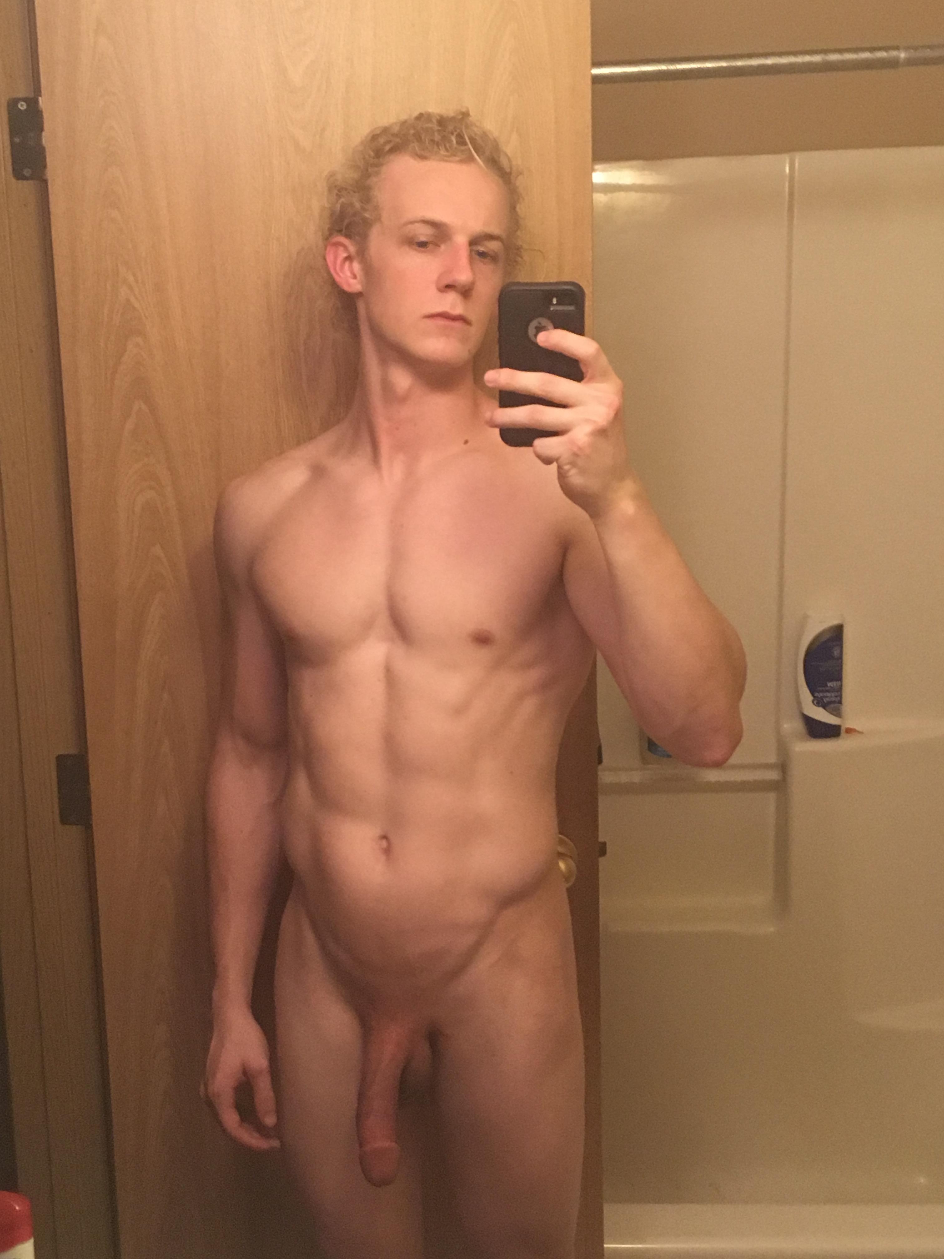 Selfie d'un sportif au repos